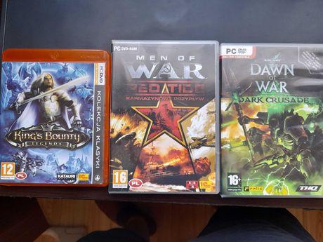 Zestaw gier PC Kings Bounty, Dawn of War BDB stan
