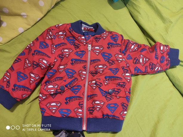 kurtka dla chłopca 74 Superman
