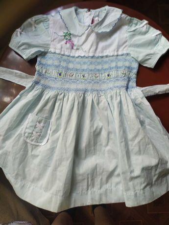 Платье детское китайское НОВОЕ  времён СССР