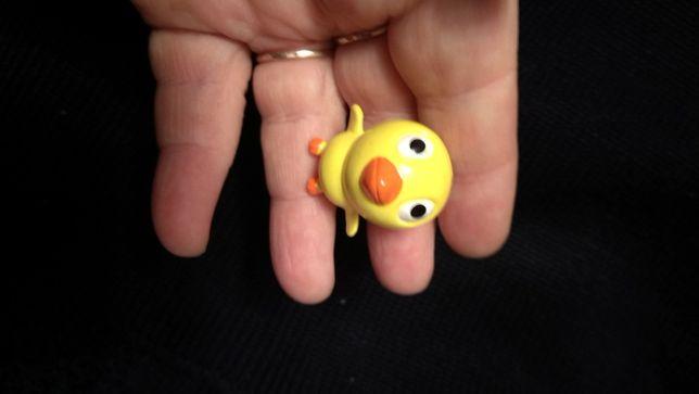утенок желтый игрушка пластик утка уточка 3.5 см фигурка
