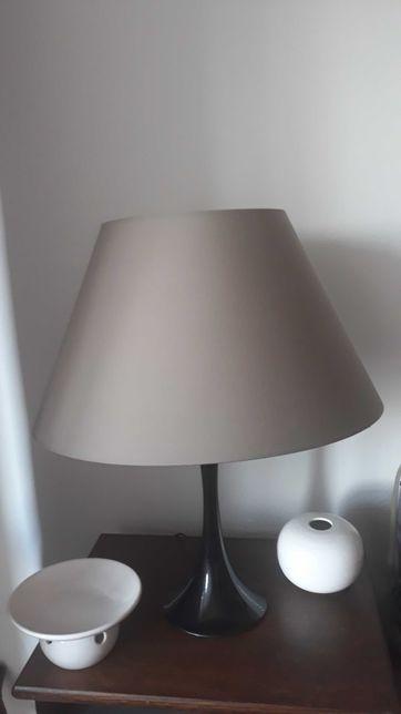 Klosz do lampy szary duży