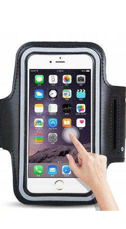 Pokrowiec na ramię na duży telefon   ponac 6 cala(czarny)