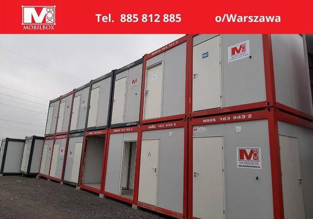 Wynajem kontenerów biurowych, socjalnych, sanitarnych, morskich i inny
