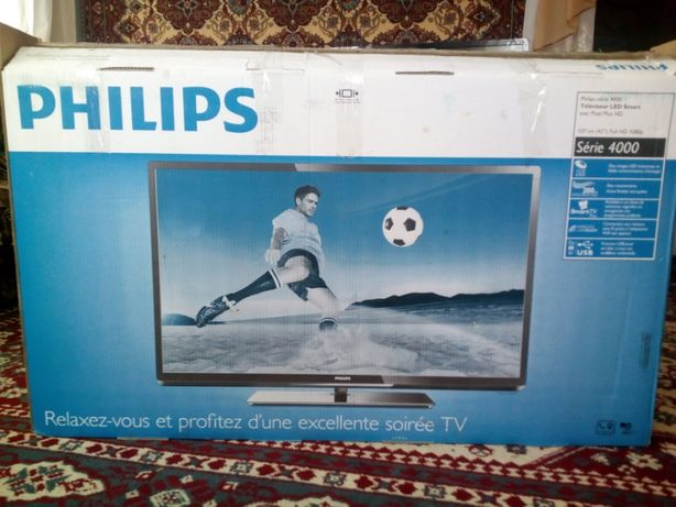 Телевизор Philips 42PFL4007 Smart TV