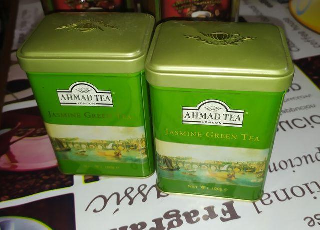 Зелёный Чай Ахмад с жасмином, ж/б Ahmad tea Jasmine Green tea