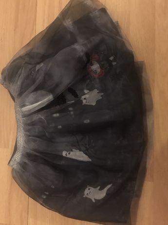 H&m spódniczka tiul halloween 122/128