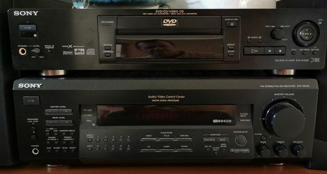 Sistema AV Sony com colunas Wharfedale e Subwoofer Yamaha