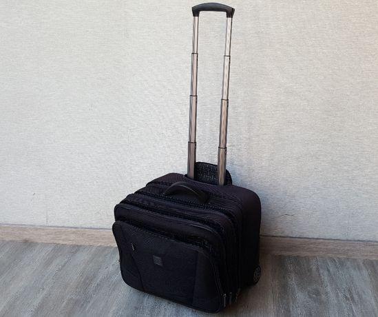 torba podróżna bagaż lufthansa 28x44x37 na kółkach solidna marka