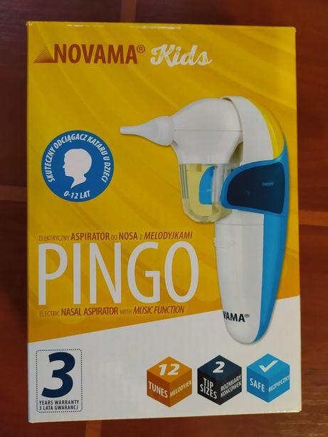 Elektryczny aspirator do nosa z melodyjkami firmy NOVAMA KIDS