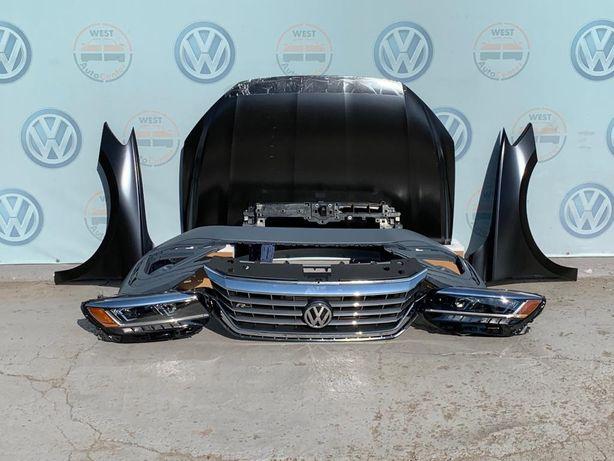 VW Passat B9 USA 2020 капот крило бампер фара телевизор решетка