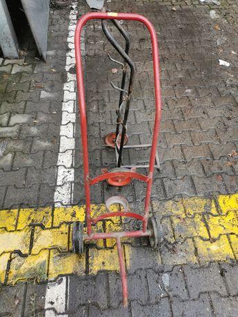 Wózek na gaśnicę, wózek, stary wózek na gaśnicę