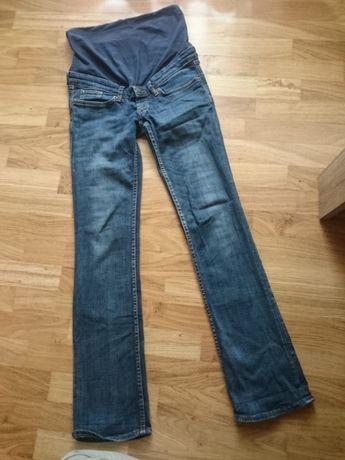 Spodnie ciążowe H&M, na wysoką, szczupłą osobę