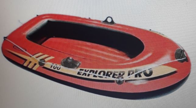 Продаётся надувная новая одноместная лодка.