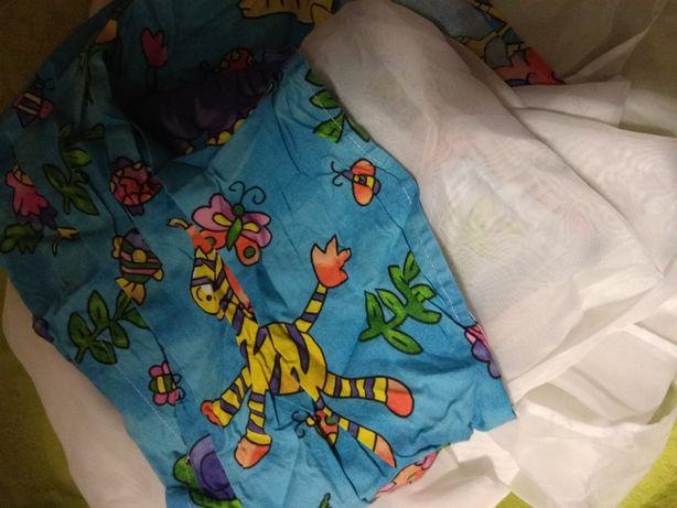 Балдахин для кроватки+ держатель для балдахина в идеальном состоянии