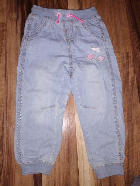 Spodnie dżinsowe Smyk Cool Club rozmiar 92