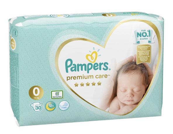 Подгузники Pampers premium care 0