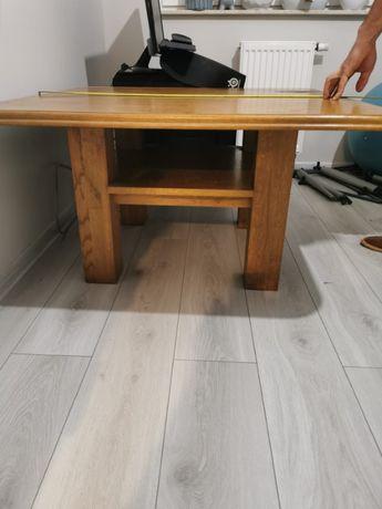 Stolik drewniany kawowy,solidny,pełne drewno