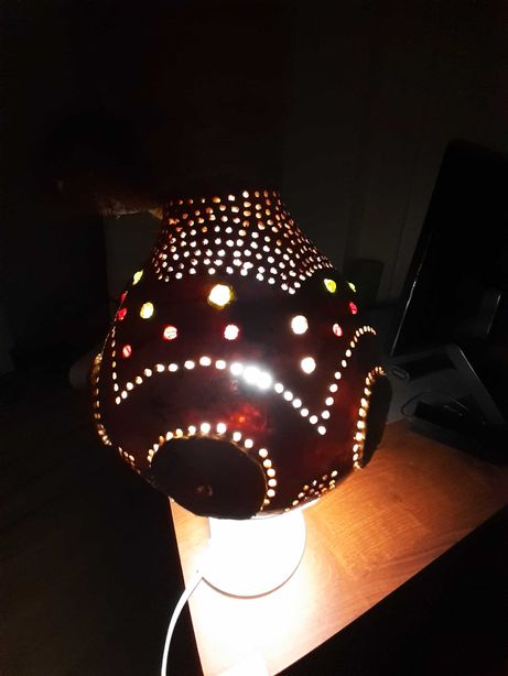 Lampa wisząca  z Tykwy