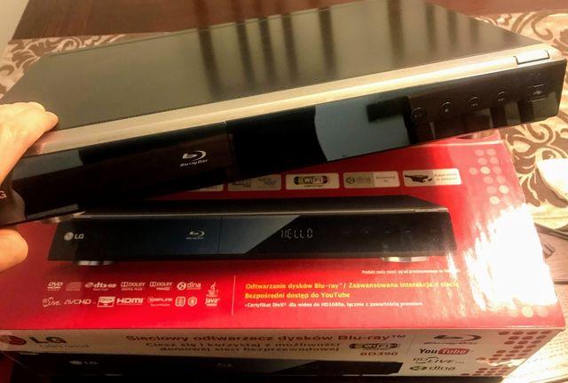 Sieciowy odtwarzacz dysków Blu-Ray LD BD390