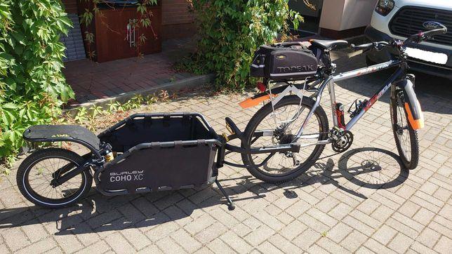 przyczepka rowerowa Burley Coho XC, stan idealny.