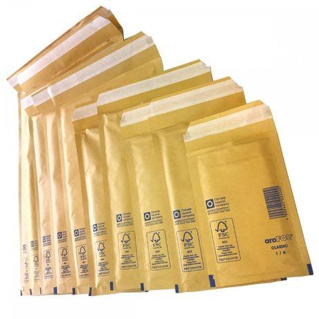 Caixa com Envelopes / Saquetas Almofadadas AroFOL