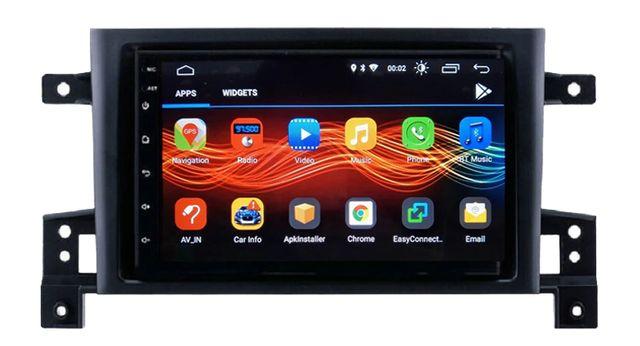 Radio nawigacja Suzuki Grand Vitara 2005 do 2015 Android 8.1 WiFi GPS