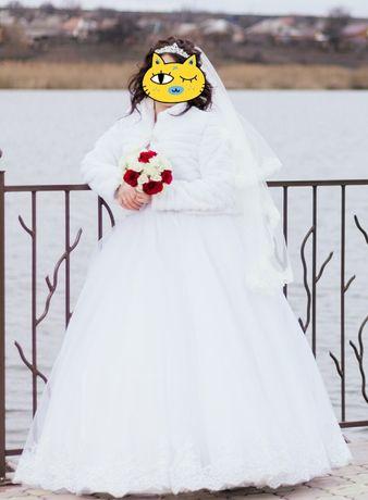 Срочно продам свадебное платье. Цена снижена
