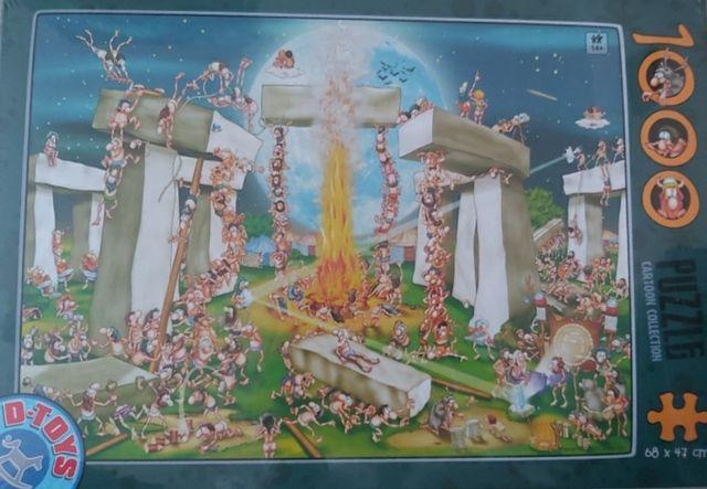 Puzzle D-Toys. 1000 elem. Stonehenge.