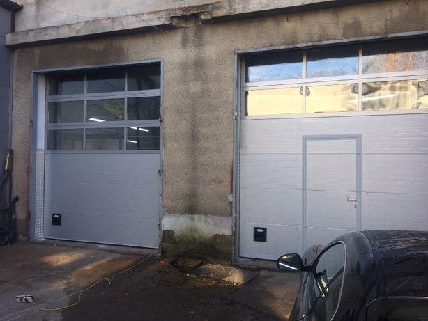 Bramy garażowe przemysłowe segmentowe.