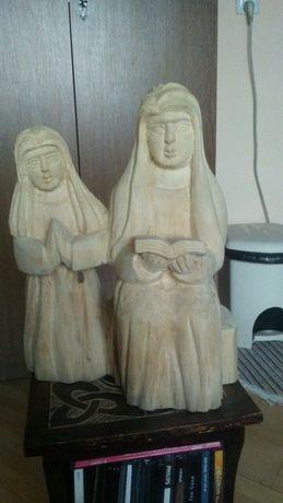 Sw Anna z Maryja, rzezba, drewno