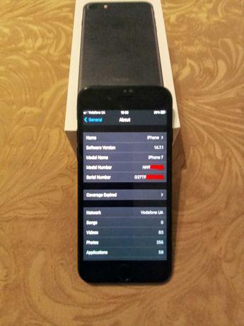 Продаю iPhone 7 128 GB Black Refurbished Neverlock
