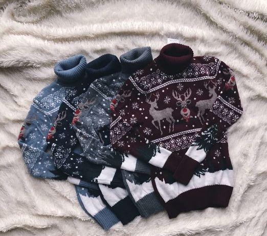 Новорічні светри.S-M