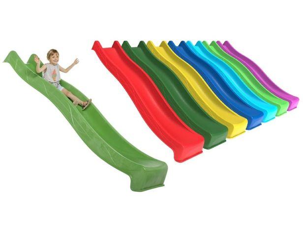 Детская горка спуск длиной 3 м; 2,2 м; 1,8 м; 1,2 м, подключение воды