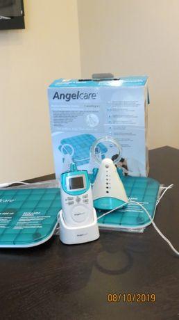 Angelcare Monitor Oddechu+Niania w zestawie 2 płytki