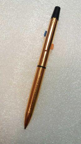 Ручка позолоченная трёх цветная СССР эксклюзив