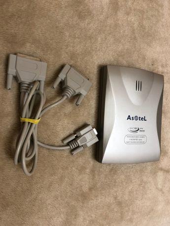 Голосовой факс-модем внешний Asotel GVC R21 plus Vektor