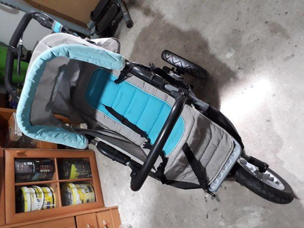wózek spacerówka 3-kołowy