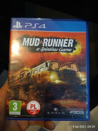 Mud runner gra  ps4