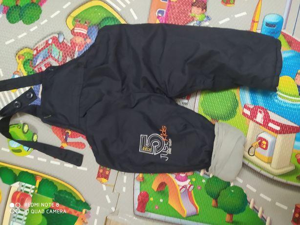 Зимние штаны очень теплые , полукомбинезон зимний