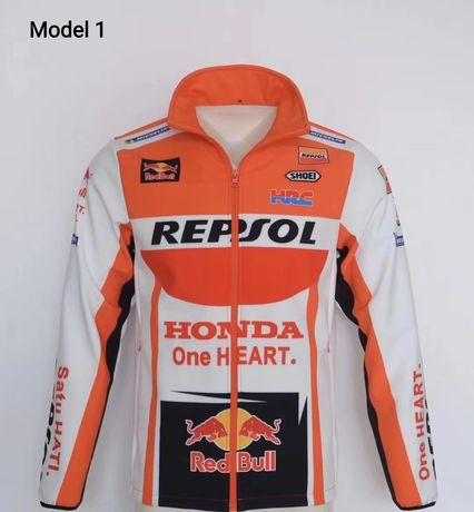 Kurtka sportowa Honda Repsol Red Bull motocyklowa Cross softshell