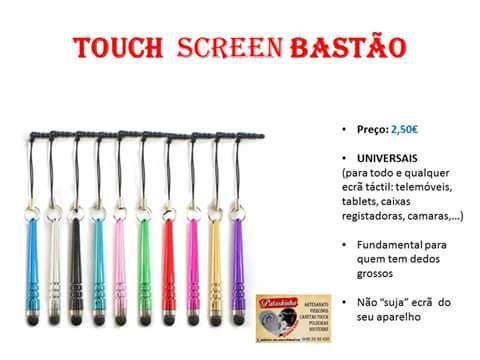 Caneta touch Bastao universal