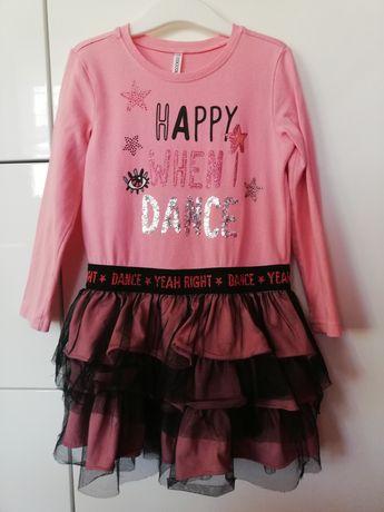 Sukienka Coccodrillo falbany 104