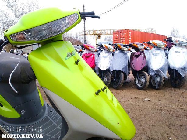 Dio AF17 Amber Японский скутер НОBА ПОСТАВКА с контейнера купить мопед