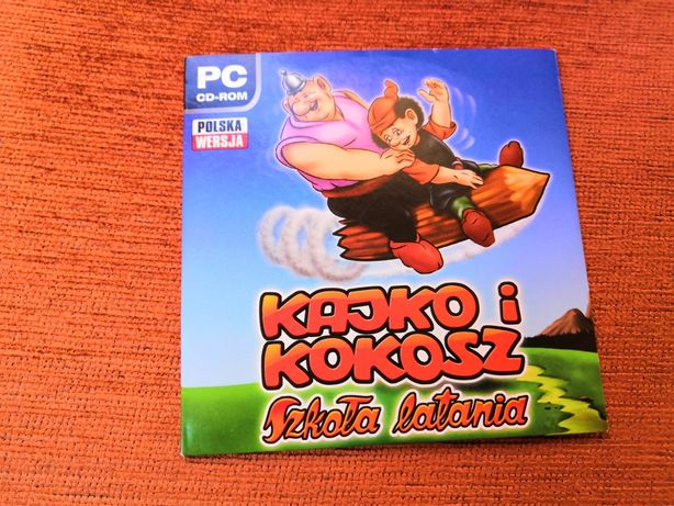 Kajko i Kokosz szkoła latania - gra PC