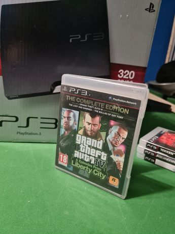 Ps3 GTA 4 & episodes from Liberty city PlayStation 3 Grand Theft auto