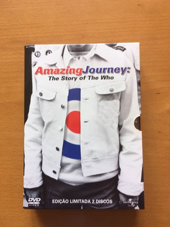 DVD The Who - Amazing Journey