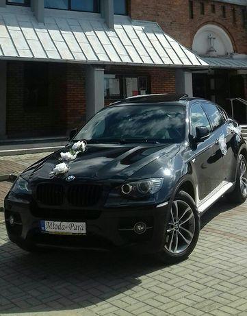 BMW X6 Samochód auto do Ślubu na wesele do wynajęcia Strojenie gratis