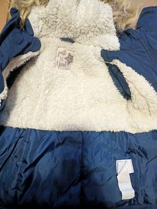 Kurtka zimowa dziewczynka 98 Lębork - image 1