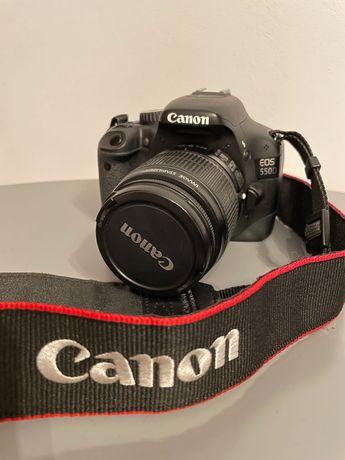 Canon 550d (18-55mm)