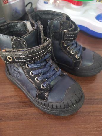 Демисезонные ботинки для мальчика 25 размер